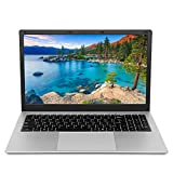 Laptop 15.6 inch Computer PC Notebook, Windows 10 Pro OS Intel Celeron Quad-core CPU 8GB RAM 128GB SSD Storage, RJ45 Port Webcam WiFi Mini HDMI