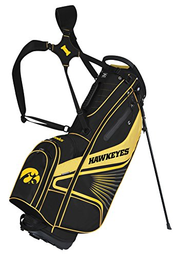 Cheap Team Effort Iowa Hawkeyes Gridiron III Stand Bag