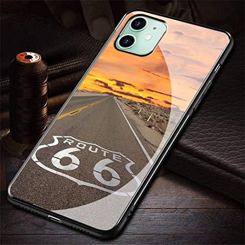 HZZAWDHL Funda iPhone 12 Case/Funda iPhone 12 Pro Case Tempered Glass Phone Case Tit Leist Go Lf R-222