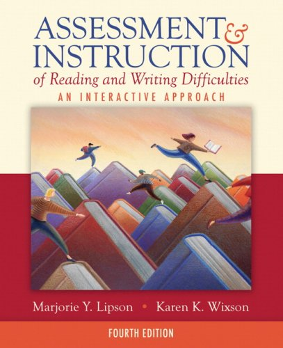 Assessment and Instruction of Reading and Writing Difficulties: An Interactive Approach