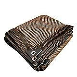 Protección Resistente Cubiertas de Invernadero Sol Toldo de Vela al Aire Libre de protección Solar UV Net 200x100 cm