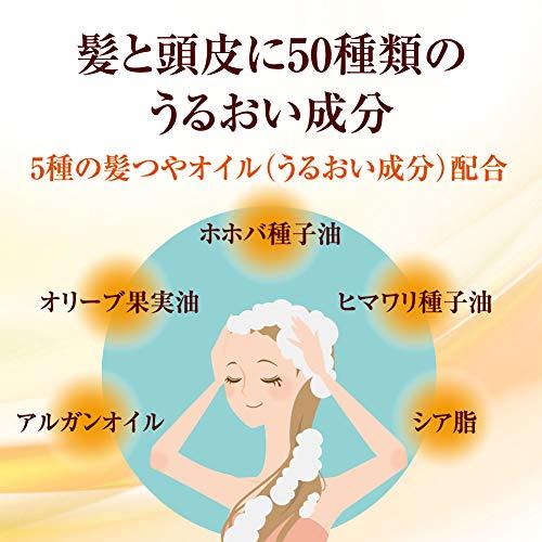 ロート製薬『50の恵髪と頭皮の養潤シャンプー』