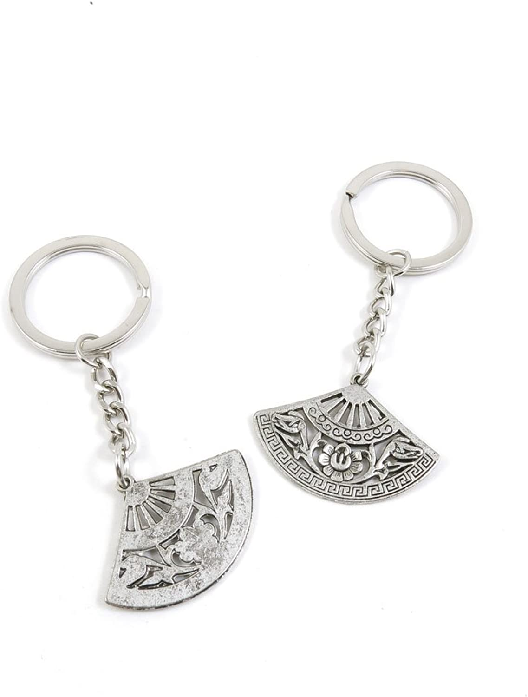 170 Pieces Fashion Jewelry Keyring Keychain Door Car Key Tag Ring Chain Supplier Supply Wholesale Bulk Lots Y5DO9 Folding Fan