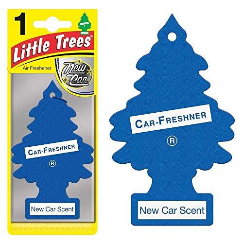 Aromatizante Little Trees várias opções Cheirinho para carro (New Car)