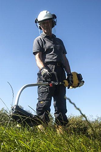 STANLEY STR-750A Petrol Grass Trimmer, Black, Yellow