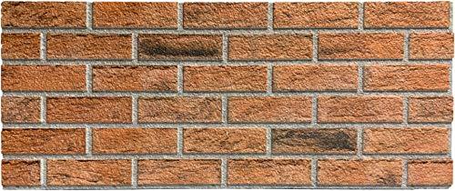 Steinoptik Wandverkleidung für Wohnzimmer, Küche, Terrasse oder Schlafzimmer in Klinkeroptik Look. (ST 353-110)