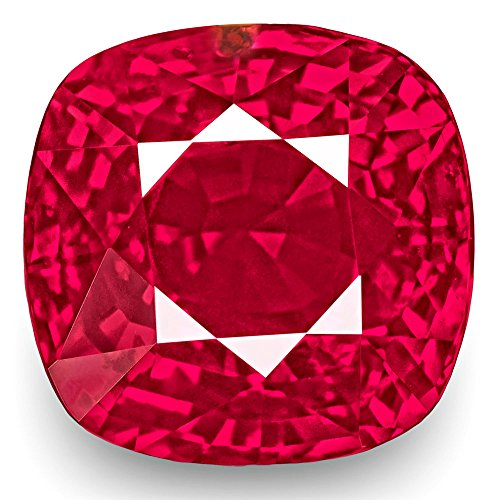 3.03-Carat Natural Ruby - 100% Unheated & Untreated, Mined in Mozambique, Certified by GRS, Premium Loose Gemstone