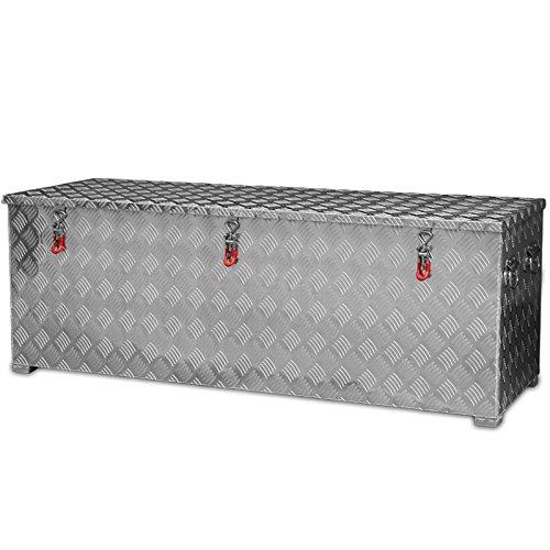 430l Alukiste XXL Werkzeugkiste Alubox Deichselbox Staubox Gurtkiste Box Alu Kiste TB5