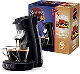Philips Senseo Viva Cafe HD6561/67 Nr. 1 Kaffepadmaschine mit 100 Pads in der Box (schwarz),...