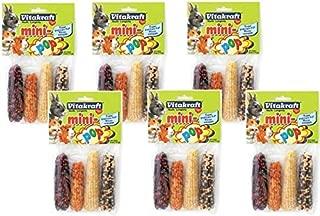 (6 Pack) Vitakraft Mini-Pop Small Animal Indian Corn Treats