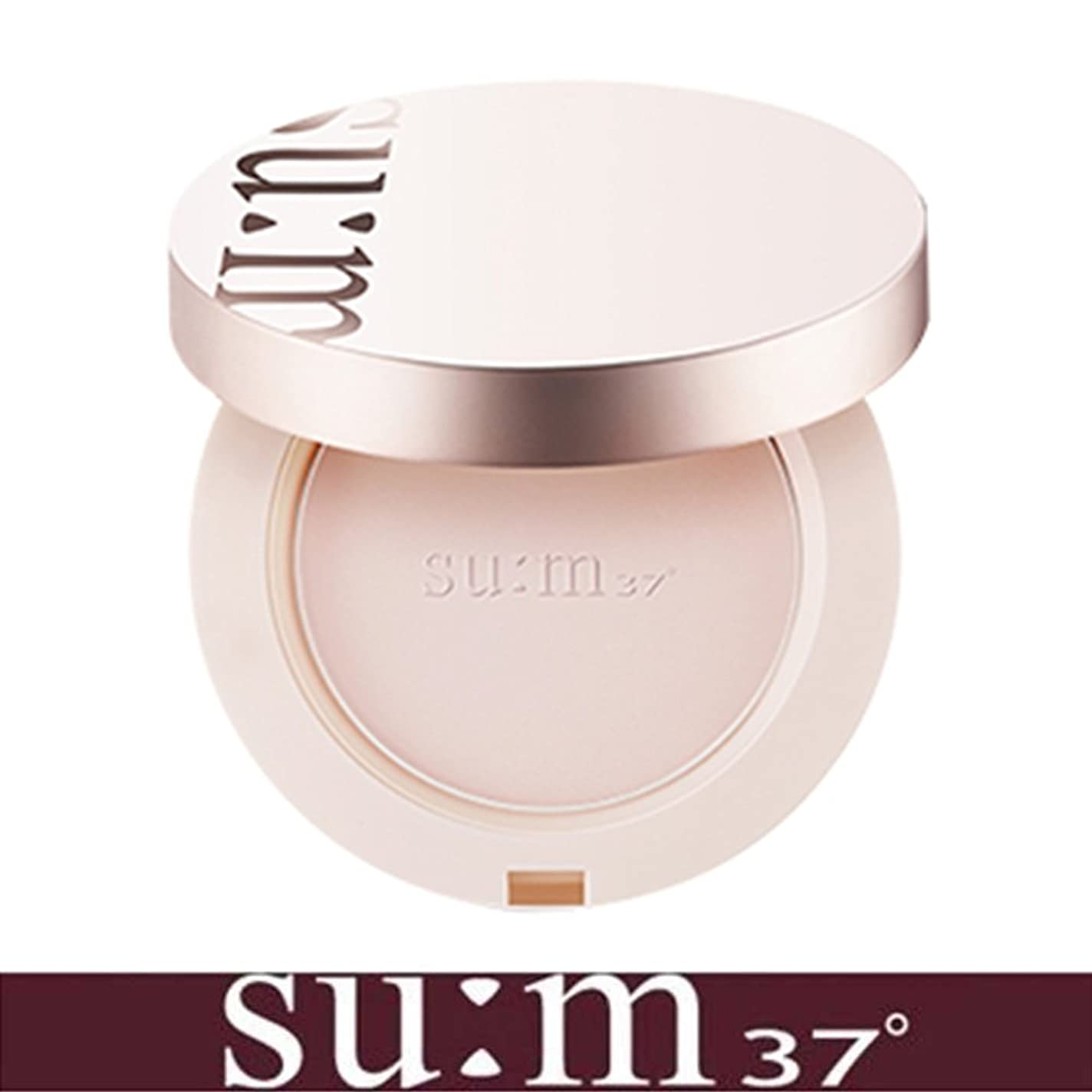 謙虚なクロール不適当[su:m37/スム37°] Sun-away Mild Tone-up Sun Pact SPF50+/PA++++/ライン - アウェイマイルドトンオプ線ファクト+[Sample Gift](海外直送品)