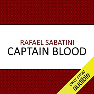 Captain Blood audiobook cover art