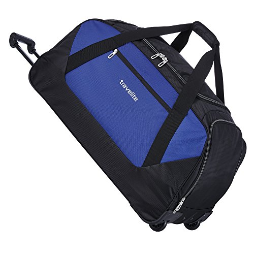 Travelite Kick Off Rollenreisetasche XL, 6811-20 Reisetasche, 77 cm, 123 L, Blau
