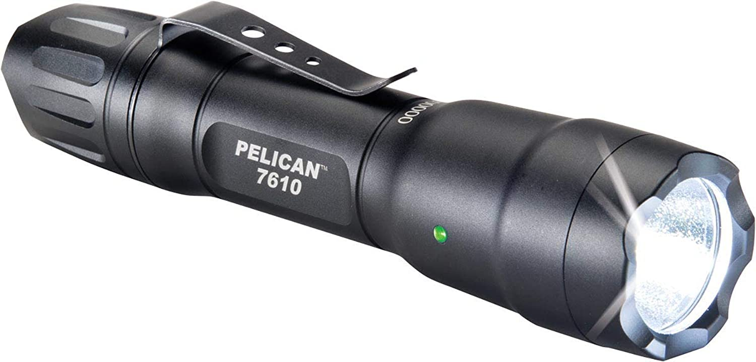 Pelican 7610 Tactical LED Flashlight (Black)