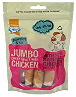 Ideal complementary snack to a well-balanced diet and are great for helping to train your pooch or rewarding good behaviour. Made with 100% natural human grade meat Only 2% fat, High in protein Re-sealable bag Contains no artificial colours, flavours...