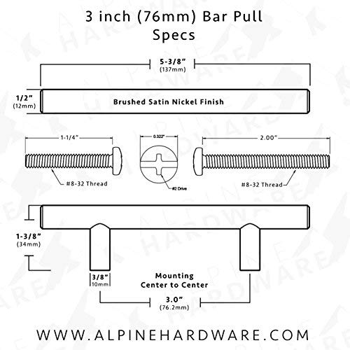 Alpine Hardware | 25Pack ~ 3