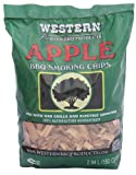 Western Apple Smoking Chips, 2-Pound Bags (Pack of 6)