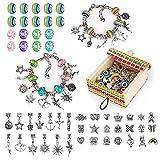 Jouets pour adolescentes cadeaux, cadeaux de fille de charme de licorne 6 7 8 9 10 Kit de fabrication de bijoux pour filles 7 8 9 10 11 Cadeaux d'art et d'artisanat pour 7 8 9 ans filles enfants
