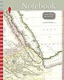 Notebook: 1818, Pinkerton Map of Abyssinia, Ethiopia , Sudan and Nubia, John Pinkerton, 1758 – 1826, Scottish antiquarian, cartographer, UK