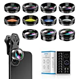 Apexel 11 in 1 Phone Camera Lens Kit - Wide Angle Lens