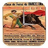 Reloj Pared Agencia Viajes Vacaciones Taurino de Barcelona Torero Plexiglas