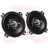 JVC CS-J420X - 10cm/100mm Auto Lautsprecher/Boxen/Speaker kompatibel für FIAT