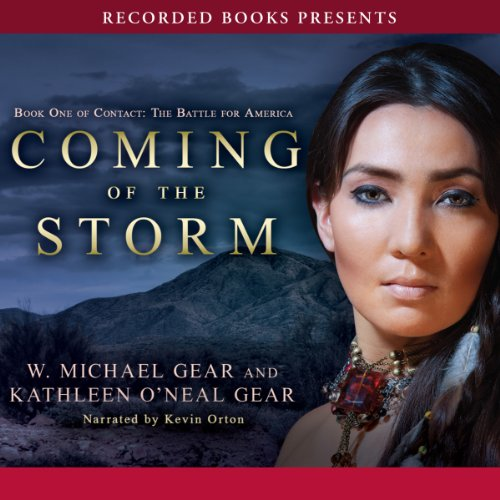 Coming of the Storm audiobook cover art
