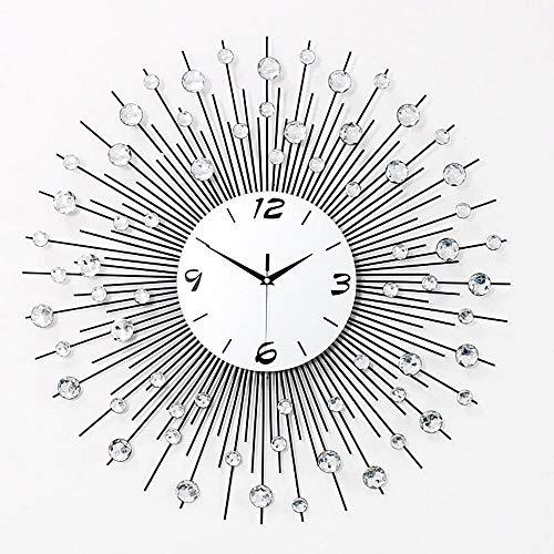 Woonkamer moderne minimalistische stijl en creatieve mode wandklok slaapkamer stil quartz horloges 60 * 60cm