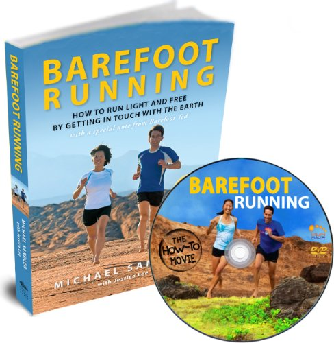 Barefoot Running Book and DVD Set (US Version) Run Light and Free! Learn Natural Running Form Barefoot or in Minimalist Shoes – Includes Earthing