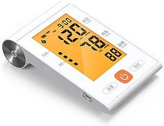 LTLGHY Tensiómetro De Brazo Digital Recargable USB, Tensiómetro De Brazo Digital con Detección De Arrítmia Y Pantalla 4.8' Gran Pantalla LED Retroiluminada, 2 Memorias De Usuario(2 * 99)