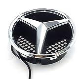 Car Front Grille Star Emblem LED Logo Works...