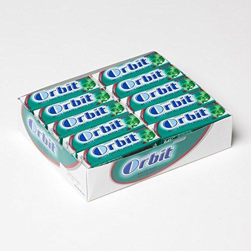 Orbit Chicles Sabor Menta Fuerte - Paquete de 30 x 14 gr - Total: 420 gr