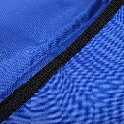 Kadimendium Bolsa de ayudas a la Movilidad Rack para Bicicletas Paquete de estantes para mercancías Sillas de Ruedas, Scooters eléctricos, sillas móviles para Acampar y Viajar en el Campo(Blue)