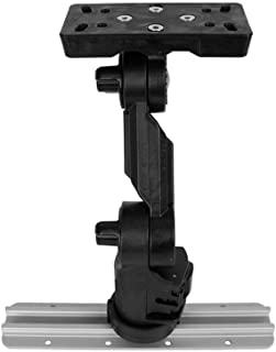 """Yakattack Fish Finder Mount W/LockNLoad Mounting System, Helix Series, 4 """" ext"""