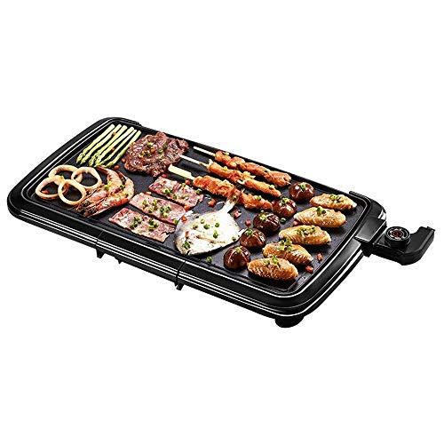 MUzoo Grill Teppanyaki -Teppppanyaki Tabla Superior Parrilla Grill BBQ Barbacoa Antiadherente Extra...
