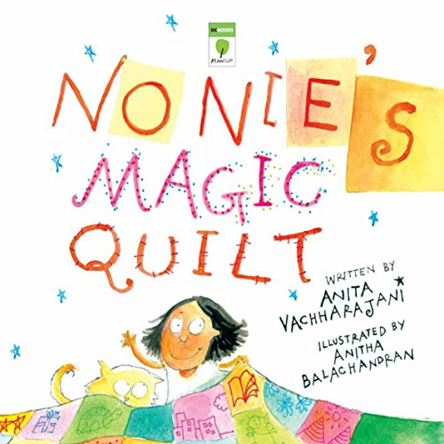 Nonie's Magic Quilt audiobook cover art