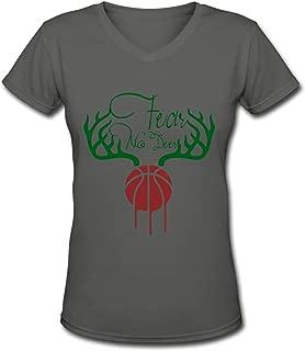 Women's T-Shirt Thon Maker, Girls Tee Short Sleeves Ladies Teen Jersey Shirt Deep Heather XL