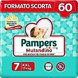 Pampers Baby Dry Mutandino, 60 Pannolini, XXL, Taglia 7