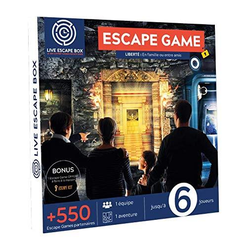 Coffret Cadeau Escape Game Liberté : en Famill...