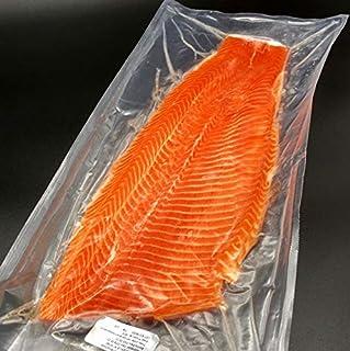 サーモン 半身 刺身用 皮なし 600~700g チリ産 冷凍 フィレ 活締め 養殖 鮭...