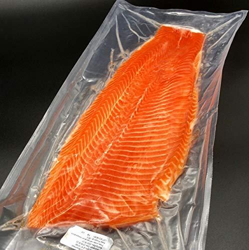 サーモン 半身 刺身用 皮なし 600~700g チリ産 冷凍 フィレ 活締め 養殖 鮭