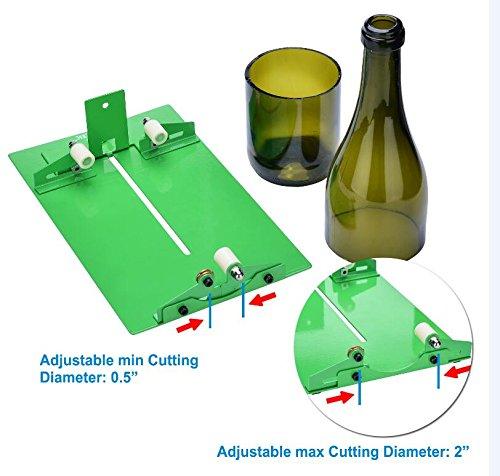 Glass Bottle Cutter, AGPtEK Bottle Cutter Cutting Machine, Wine Bottles Beer Bottles Cutter Glass Cutter Cutting Tool