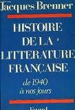 Histoire de la littérature française de 1940 à nos jours
