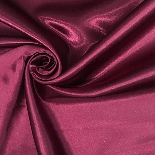 Panini Tessuti, Tessuto Raso Lux Tinta Unita Venduto al Metro, 1 qtà = 100 cm; 2 qtà = 200 cm - Creazioni sartoriali e Abbigliamento