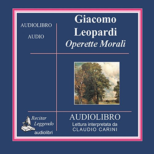 Operette Morali [Small Moral Works] cover art