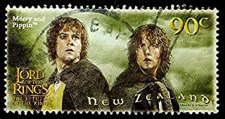 lord of the rings postage stamps