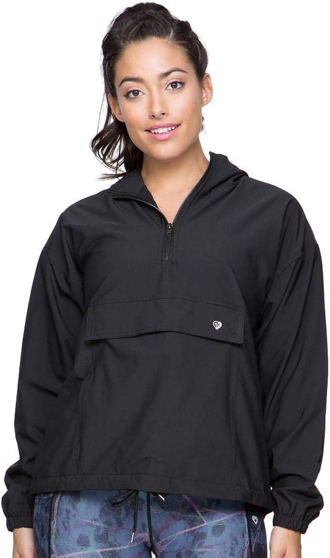 Colosseum Womens Stella Anorak Jacket Black