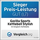 Gorilla Sports Kettlebell Stylish, 10 kg - 7