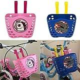 belukies Fahrradkorb Kinder Fahrrad Korb Für Jungs Mädchen(2pcs)