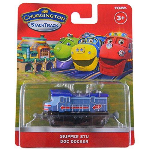 Chuggington LC54136 - Captain STU (Locomotora)